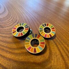 SDGsピンバッジ(伊勢桧)
